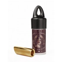The Rock Slide polished brass Joey Landreth signature slide (inside 17.5 - length 54.0mm)