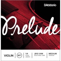D'Addario Orchestral J810 1/4M Set 1/4 Medium Tension