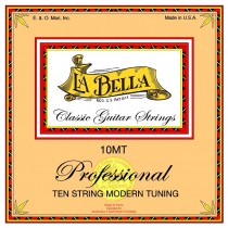 LaBella 10MT Classical 10 String Guitar Modern Tuning - 10-strengssett for klassisk gitar