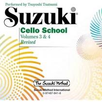 Suzuki cello CD 3 & 4 Revised edition