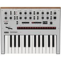 Korg Monologue Silver Analog Synthesizer