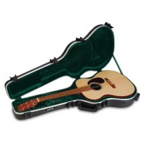 SKB 1SKB-000 - Acoustic Guitar Case for thinner body guitars.