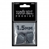 Ernie Ball EB-9199 PRODIGY-PICK-BK-1s 6-pack