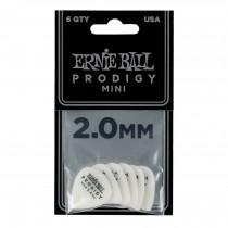 Ernie Ball EB-9203 Prodigy Pick White 2.0 - 6-pack