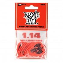 Ernie Ball EB-9194 Everlast 1.14-Red,12pk
