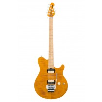 Music Man Axis Trans Gold Flame Top