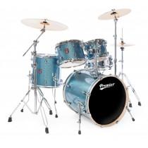 Premier 64299-25CBW - APK Stage 20 Cosmic Blue Wrap  - Trommesett m/hardware