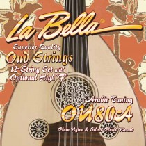 LaBella OU80A World Folk Set Oud Arabic Tuning. Strengesett for Oud
