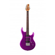 Music Man Luke 3 HSS, Fuschia Sparkle