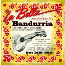 LaBella MB550 World Folk Set Bandurria - Strengesett til bandurria
