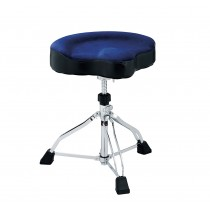 Tama HT530DBCN - Tama 1st Chair Glide Rider Dark Blue Cloth Seat