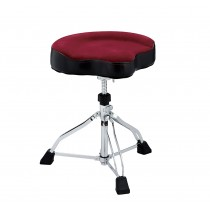 Tama HT530DRCN - Tama 1st Chair Glide Rider Dark Red Cloth Seat