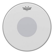 "Remo BX-0113-10 | EMPEROR 13"" X COATED Bottom black dot"