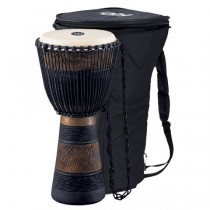 "Meinl ADJ3-L African Djembe, Large m/Bag 12"" Brown/Blk"