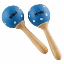 Meinl Nino 7-PDB Maracas tre, små, Blue/Polka Dots (M)