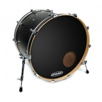 "Evans EQ3 Resonant Black 22"" BD22RB"