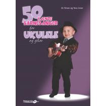 50 kjente barnesanger for ukulele og gitar - Simen og Tone Joner