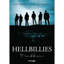 Hellbillies - Tretten - sangtekster, noter med besifring