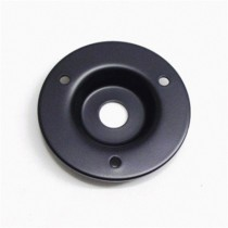 ALLPARTS AH-9311-003 Black Recessed Amp Jackplate