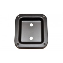 ALLPARTS AH-9312-003 Black Metal Dish Speaker Cabinet Jackplate