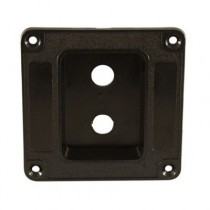 ALLPARTS AH-9313-023 Recessed Dish Speaker Cabinet Jackplate