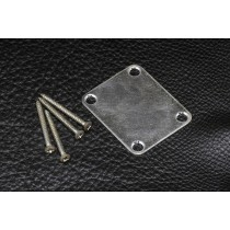 ALLPARTS AP-0601-007 Aged Chrome Serial Numbered Neckplate