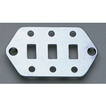 ALLPARTS AP-0656-010 Chrome Switch Plate for Jaguar