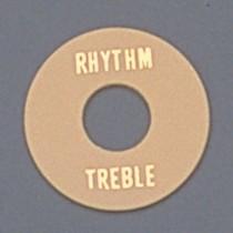ALLPARTS AP-0663-028 Cream Plastic Rhythm/Treble Ring