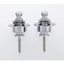 ALLPARTS AP-0680-B10 Bulk Pack of 10 Chrome Strap Locks