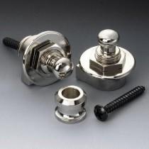 ALLPARTS AP-0681-001 Schaller 445 Nickel Strap Locks