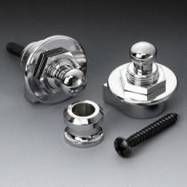 ALLPARTS AP-0681-010 Schaller Chrome Strap Locks