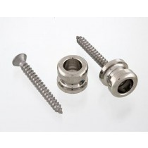 ALLPARTS AP-0682-001 Nickel Strap Buttons
