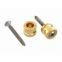 ALLPARTS AP-0683-002 Schaller Gold Strap Buttons