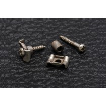 ALLPARTS AP-0723-007 Aged Nickel String Guides