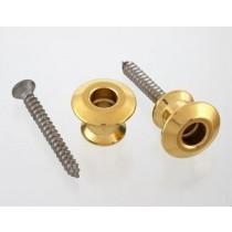 ALLPARTS AP-6582-002 Dunlop Gold Strap Buttons