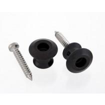 ALLPARTS AP-6582-003 Dunlop Black Strap Buttons