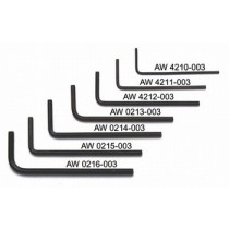 ALLPARTS AW-0214-003 2.0mm Allen Wrench Set