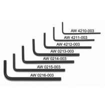 ALLPARTS AW-0215-003 2.5mm Allen Wrench Set