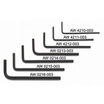 ALLPARTS AW-0216-003 3.00mm Allen Wrench Set