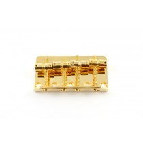 ALLPARTS BB-0310-002 Gold Bridge for P-Bass and J-Bass
