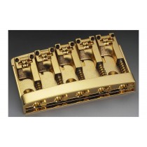 ALLPARTS BB-0322-002 Schaller Gold 5-String Bridge
