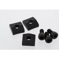 ALLPARTS BP-0116-003 Black Nut Blocks