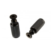 ALLPARTS BP-0195-003 Black Anchors and Studs