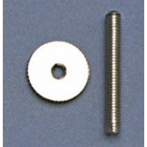 ALLPARTS BP-2393-001 Nickel Studs and Wheels
