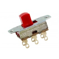 ALLPARTS EP-0260-026 Red On-On Slide Switch