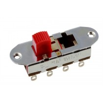 ALLPARTS EP-0261-026 On-Off-On Slide Switch for Mustang®