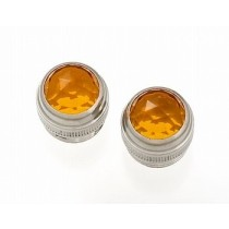 ALLPARTS EP-0826-022 Amber Amp Lenses