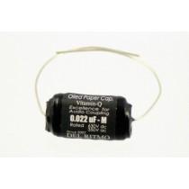 ALLPARTS EP-4058-000 Vitamin Q .022 Black Candy Capacitor