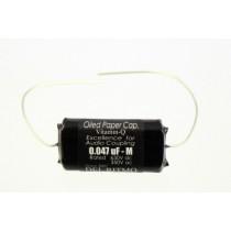 ALLPARTS EP-4059-000 Vitamin Q .047 Black Candy Capacitor