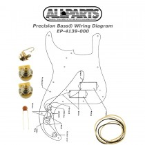 ALLPARTS EP-4139-000 Wiring Kit for Precision Bass®